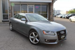 Used 2009 Audi A5 MANUAL|LEATHER|SUNROOF for sale in Mississauga, ON