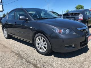 Used 2008 Mazda MAZDA3 GS *Ltd Avail*, Accident Free, Warranty, Certified for sale in Woodbridge, ON
