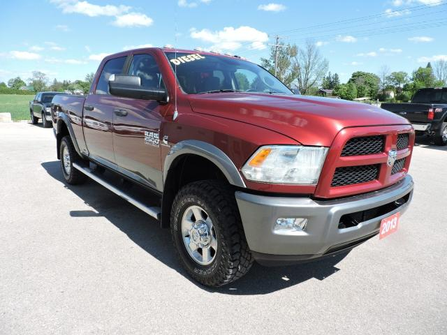 2013 RAM 2500 Outdoorsman. Diesel. 4X4. Only 78000 km
