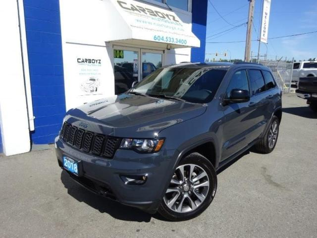 2018 Jeep Grand Cherokee 4x4, Upland Pkg, Nav, Sunroof, Leather, 2,528 Kms