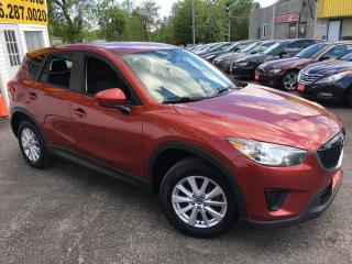 Used 2013 Mazda CX-5 GX/ AUTO/ BLUETOOTH/ PWR GROUP/ ALLOYS/ LIKE NEW! for sale in Scarborough, ON
