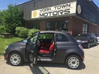 Used 2014 Fiat 500 Pop/RedInterior/LowKMs for sale in North York, ON
