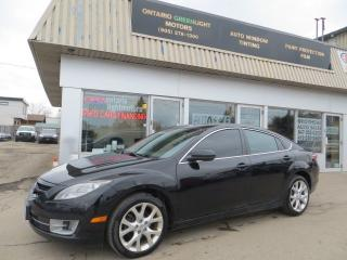 Used 2009 Mazda MAZDA6 ALLOYS,SUNROOF,BLUETOOTH,FOG LIGHTS,SUPER CLEAN for sale in Mississauga, ON