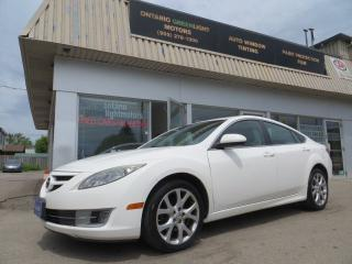 Used 2009 Mazda MAZDA6 LEATHER,ALLOYS,SUNROOF,BLUETOOTH,FOG LIGHTS, for sale in Mississauga, ON