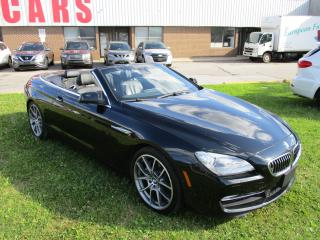 Used 2012 BMW 6 Series 650i~CONVERTIBLE~NAV.~LANE ASIST.~BSM~LOADED for sale in Toronto, ON