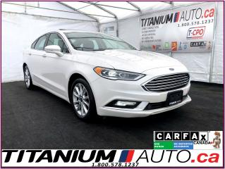 Used 2017 Ford Fusion SE+GPS+Camera+Sunroof+Leather+Remote Start+Apple P for sale in London, ON