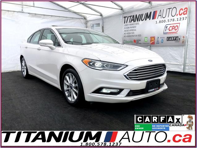 2017 Ford Fusion SE+GPS+Camera+Sunroof+Leather+Remote Start+Apple P