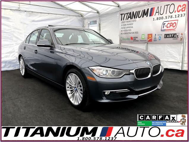 2015 BMW 3 Series 328i xDrive+GPS+Camera+Brown Leather+Park Sensors+
