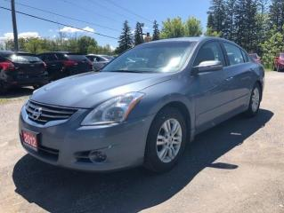 Used 2012 Nissan Altima 2.5 SL LEATHER SUNROOF BACK UP CAMERA LOADED for sale in Stouffville, ON