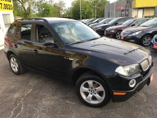 Used 2007 BMW X3 3.0Si/ SUNROOF/ PWR GROUP/ ALLOYS/ RUNS A-1! for sale in Scarborough, ON