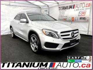 Used 2015 Mercedes-Benz GLA 4Matic+Camera+GPS+Pano Roof+Blind Spot+Park Sensor for sale in London, ON