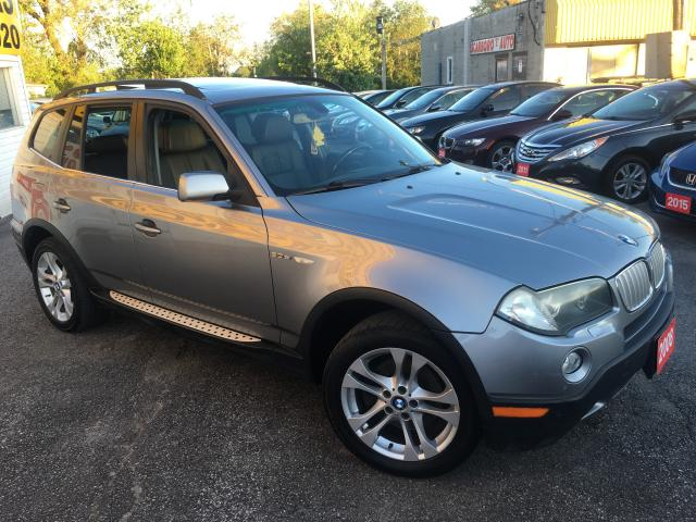 2008 BMW X3 3.0Si/ SUNROOF/ PWR GROUP/ PWR SEATS/ ALLOYS!