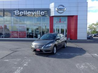 Used 2015 Nissan Sentra SV AUTO 1 OWNER LOCAL TRADE for sale in Belleville, ON