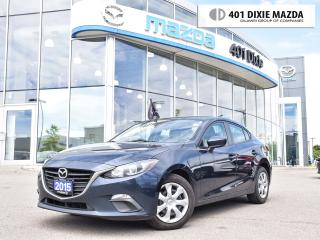 Used 2015 Mazda MAZDA3 GX|ONE OWNER|NO ACCIDENTS|FINANCE AVAILABLE for sale in Mississauga, ON