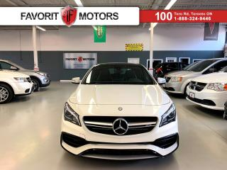 Used 2017 Mercedes-Benz CLA-Class CLA45 AMG 4MATIC *CERTIFIED* |NAV|LEATHER|SUNROOF| for sale in North York, ON
