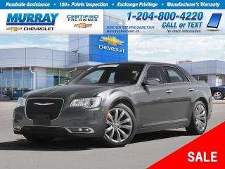 Used 2018 Chrysler 300 Limited *Sunroof, Heated Seats, Bluetooth* for sale in Winnipeg, MB