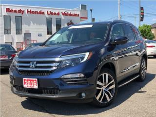 Used 2016 Honda Pilot Touring - Navigation - DVD - Pano Roof for sale in Mississauga, ON