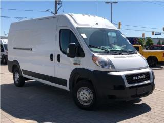 Used 2019 RAM 2500 ProMaster 2500**159 W/B**High Roof**5.0 Screen**Back UP CAM for sale in Mississauga, ON