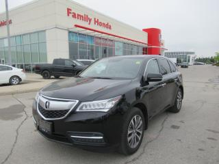 Used 2015 Acura MDX Technology Package, NAVIGATION, REVERSE CAMERA for sale in Brampton, ON