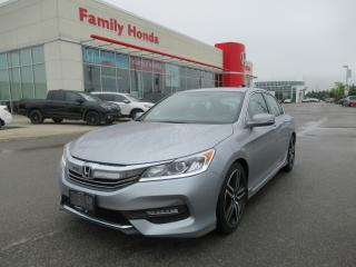 Used 2017 Honda Accord Sport, ECO MODE, Back up cam! for sale in Brampton, ON