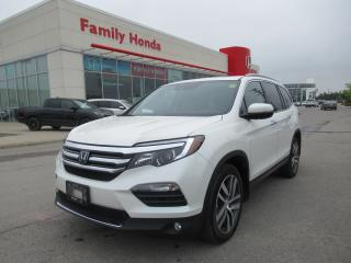 Used 2017 Honda Pilot Touring, HONDA CERTIFIED! for sale in Brampton, ON