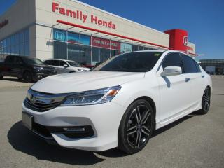 Used 2016 Honda Accord Touring, LOW KM'S!!! for sale in Brampton, ON