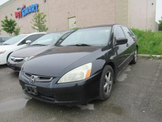 Used 2003 Honda Accord EX-L, GOOD CONDITION! for sale in Brampton, ON