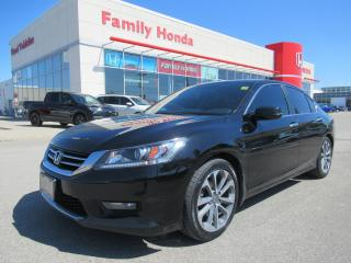 Used 2015 Honda Accord Sport, ECO MODE, Back up cam! for sale in Brampton, ON