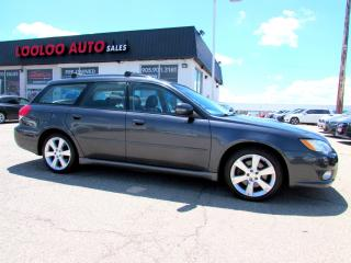 Used 2008 Subaru Legacy Wagon 2.5 GT Limited Wagon Manual Leather Sunroof Certified for sale in Milton, ON