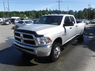 Used 2016 Dodge Ram 3500 SLT Crew Cab Long Box 4WD Dually Cummins Diesel for sale in Burnaby, BC