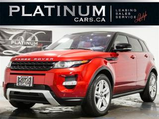 Used 2012 Land Rover Evoque DYNAMIC, NAVI, PANO, CAM, RED Lthr for sale in Toronto, ON