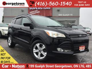 Used 2016 Ford Escape SE |NAVI |LEATHER |PANO ROOF |BACK UP CAM for sale in Georgetown, ON