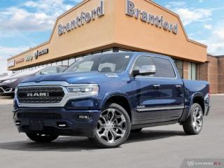 New 2019 RAM 1500 Limited  - Leather Seats -  Cooled Seats - $449.05 B/W for sale in Brantford, ON