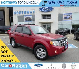 Used 2011 Ford Escape XLT | HTD LEATHER | KEYLESS ENTRY | USB/AUX | for sale in Brantford, ON