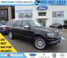 Used 2017 Lincoln Navigator NAV | HTD LEATHER | PUSH START | 3 ROW | for sale in Brantford, ON