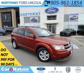 Used 2012 Dodge Journey SE Plus | KEYLESS | PUSH START | SIRIUS/XM+AUX | for sale in Brantford, ON