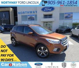 Used 2017 Ford Escape SE   AWD   HTD SEATS   BACK UP CAM   SYNC 3   for sale in Brantford, ON