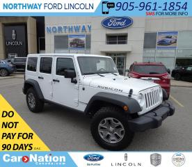 Used 2018 Jeep Wrangler Unlimited Rubicon | NAV | AXLE LOCK | HARD TOP | for sale in Brantford, ON