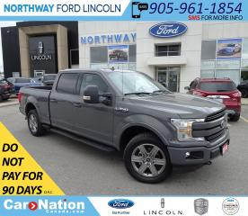 Used 2018 Ford F-150 Lariat | V8 | NAV | HTD LEATHER | PANOROOF | FX4 | for sale in Brantford, ON
