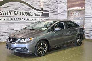 Used 2015 Honda Civic EX+TOIT+MAGS for sale in Laval, QC
