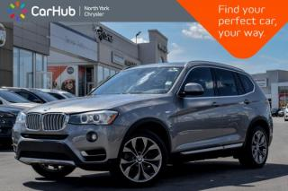 Used 2017 BMW X3 xDrive28i|Light.Pkg|Pano.Sunroof|GPS|Keyless.Go|Bluetooth|Backup.Cam| for sale in Thornhill, ON