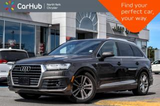 Used 2017 Audi Q7 3.0T Technik|Pano.Sunroof|BOSE|GPS|Backup.Cam|Bluetooth|Keyless.Go| for sale in Thornhill, ON