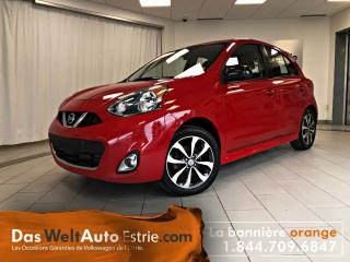 Used 2015 Nissan Micra Sr, Gr. élect. A/c for sale in Sherbrooke, QC