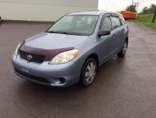Used 2005 Toyota Matrix Familiale 5 portes, boîte manuelle for sale in Quebec, QC