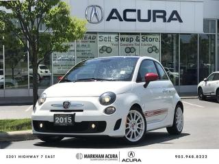 Used 2015 Fiat 500 Hatchback Abarth *Rare* *AUTO* Trans, Moonroof, Beats Audio for sale in Markham, ON