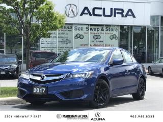 Used 2017 Acura ILX Tech 8DCT Navi, Blind Spot Ind, Backup Cam for sale in Markham, ON