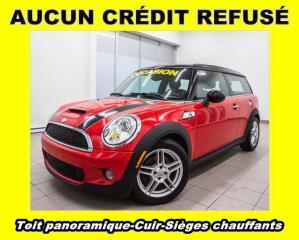 Used 2008 MINI Cooper Clubman S CUIR SIÈGES CHAUFFANTS *TOIT PANORAMIQUE* for sale in St-Jérôme, QC