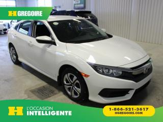 Used 2016 Honda Civic LX A/C GR-ELECTRIQUE for sale in St-Léonard, QC