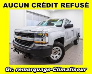 Used 2016 Chevrolet Silverado 1500 WT 4X4 CLIMATISEUR *GR. REMORQUAGE* for sale in St-Jérôme, QC