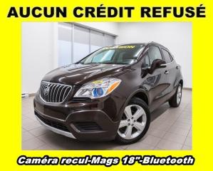Used 2016 Buick Encore BLUETOOTH CAM RECUL MAGS 18 PO. *BAS KILOMÉTRAGE* for sale in St-Jérôme, QC